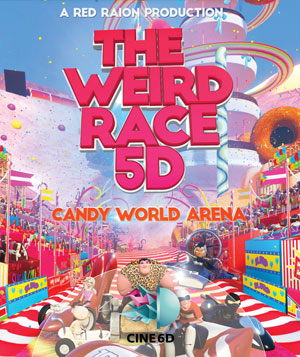 the weird race 5d movie